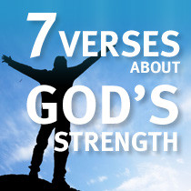 bible quotes about strength in sickness