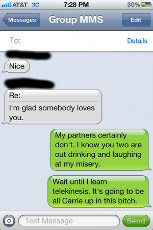 More text message fun...