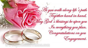 Congratulations On Your Engagement Wishes