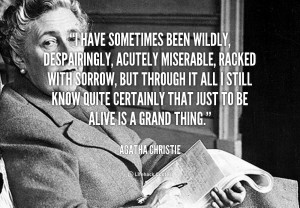 Agatha Christie Quotes On Life