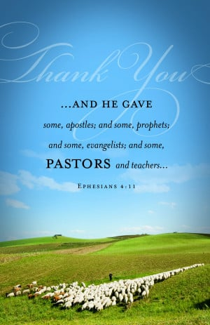 Pastor Appreciation - Regular Size Bulletins - 50-pak - Christian ...