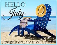 Hello July Quote