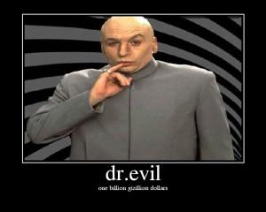 dr evil one million dollars