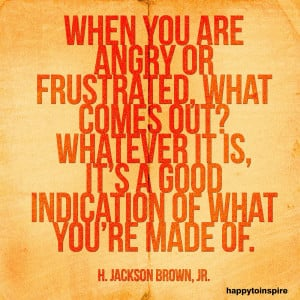 Quotes On Anger And Frustration #1