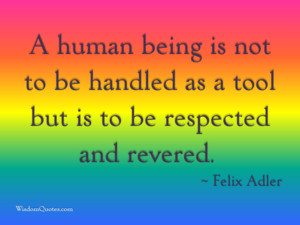 Felix Adler Quote
