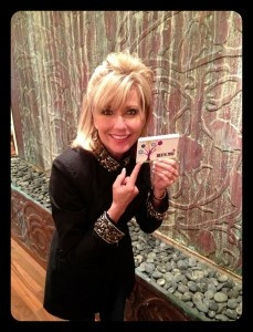 Beth Moore with her Spiral for the 2013 Scripture Memory Challenge ...