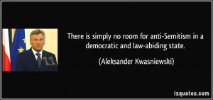 Anti Democrat Quotes room for anti Semitism in