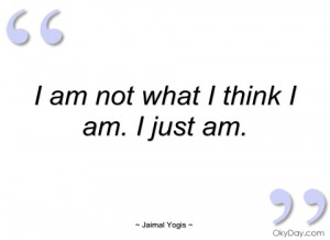 imagem i am not what i think i am