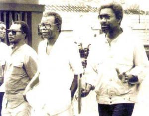– after meeting with former Nigerian Dictator Ibrahim Babangida ...