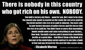 Elizabeth Warren: The Social Contract And The Presumption Of Rugged ...