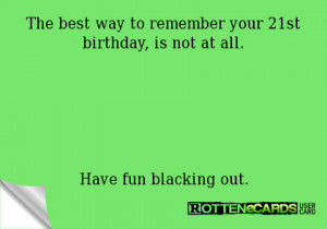 Funny 21st Birthday Ecards Your 21st birthday,