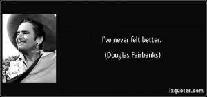 Douglas Fairbanks Quote