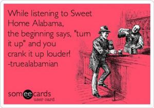Sweet Home Alabama!