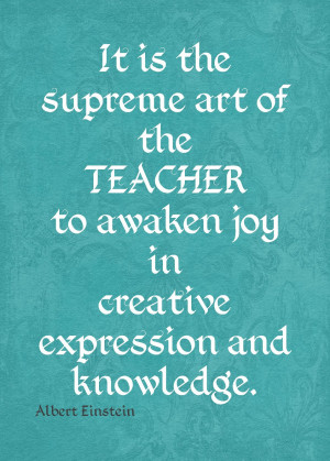 Einstein teacher quote Funny Thank You Quotes For Teachers