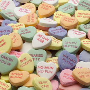 Despair, Inc. Bittersweets Candy Hearts