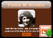Fawn M Brodie quotes