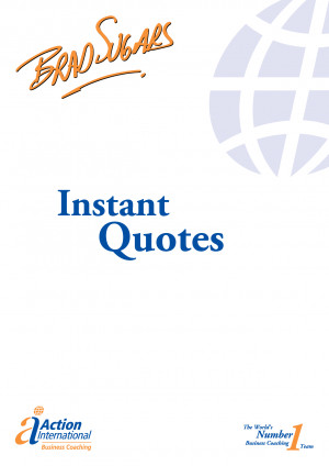 Instant Quotes - A Do-It-Yourself Guide