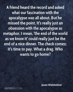Apocalypse Quotes