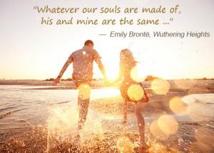 emily bronte couple quote