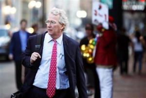 ... Aubrey McClendon walks through the French Quarter in New Orleans