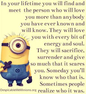 Minion I Love You Quotes minions i love you quotes