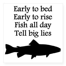Fishing Quotes Bumper Stickers