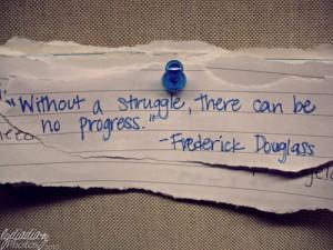 Struggle = Progress