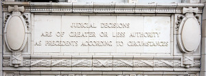 quote on the building's north side from Lincoln's speech at ...