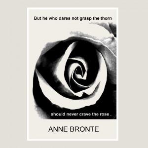 anne bronte 13 x 19 print by struggletoclimb on etsy charlotte bronte ...
