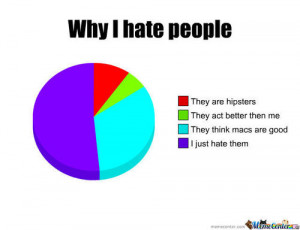 why i hate people quotes