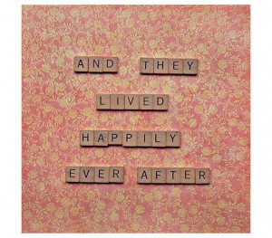 ... day wedding anniversary - square photograph - scrabble love quote