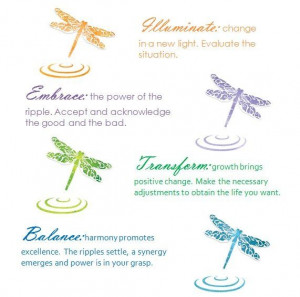 ... | Dragonfly change theory. (c) Eva Lynn Cowell 2011 | Quotes of Note