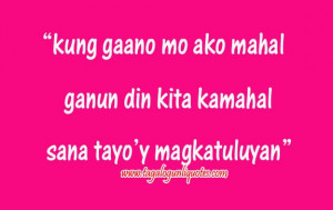 Love Quotes Tagalog For Him & Her