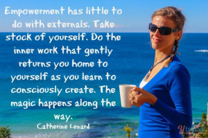 Empowerment and magic quote