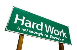Reasons That Hard Work Isn't Enough To Win In Your Work