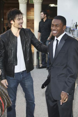 Ian Somerhalder With Malcolm David Kelley picture