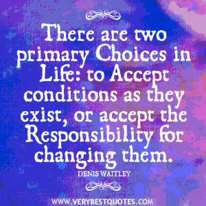 acceptance quotes, responsibility quotues