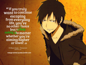 black butler quote 3 durarara quote 3 toradora quote a n add to ...