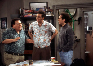 ... Seinfeld.' Jerry Seinfeld, right, confirmed that a reunion of sorts