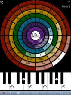 ... chord relationships in a chord sequence. #ipadmusicapps ~ Free. More