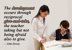 John Dewey Quotes on Teaching