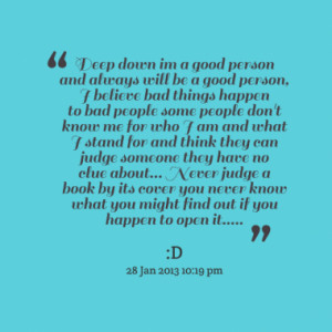 Quotes About: judgemental people