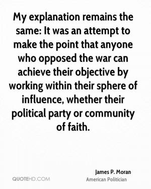 James P. Moran Quotes