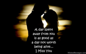 Miss You message To
