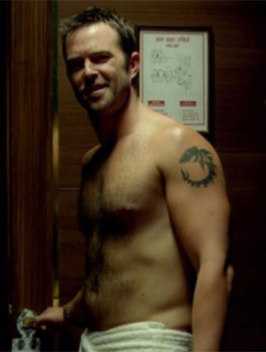 Sullivan Stapleton shirtless