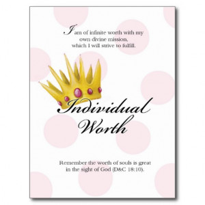 yw_value_card_individual_worth_post_cards ...
