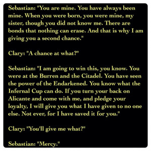 ... book 6) Quote: Quotes Llllllll, Sebastian Morgenstern Quotes