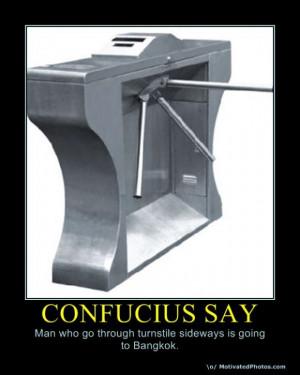Funny Confucius Say