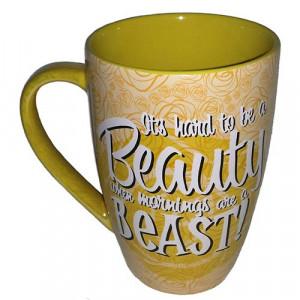 Disney Coffee Cup Mug - Princess Belle - Quotes