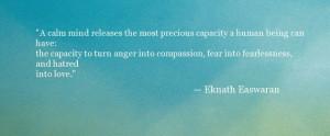 Eknath Easwaran Quote - Oprah.com